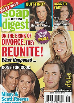 Soap Opera Digest March 11, 2008