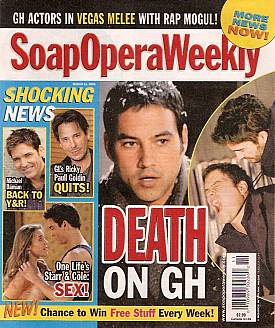 Soap Opera Weekly March 11, 2008