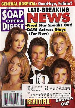 Soap Opera Digest - March 11, 1997