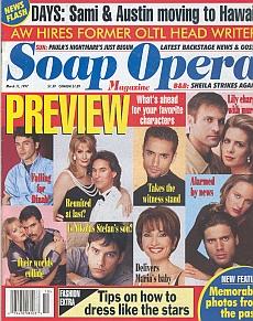 Soap Opera Magazine March 11, 1997