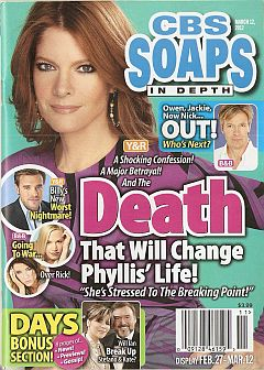 CBS Soaps In Depth March 12, 2012