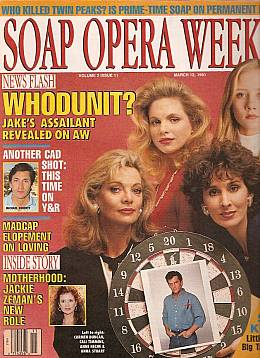 Soap Opera Weekly March 12, 1991