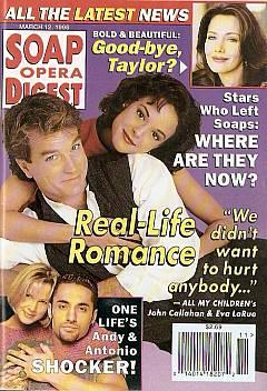 Soap Opera Digest - March 12, 1996