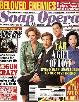 Soap Opera Magazine March 12, 1996
