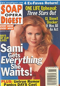 Soap Opera Digest March 13, 2001