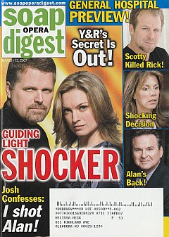 Soap Opera Digest March 13, 2007
