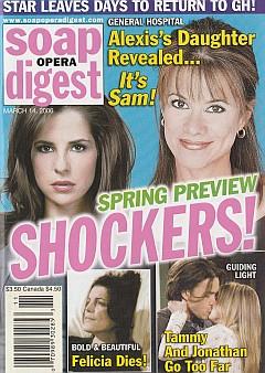 Soap Opera Digest March 14, 2006