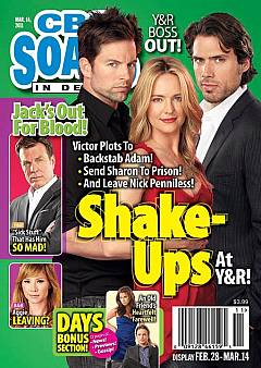 CBS Soaps In Depth March 14, 2011