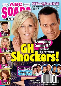 March 14, 2016 issue of ABC Soaps In Depth magazine