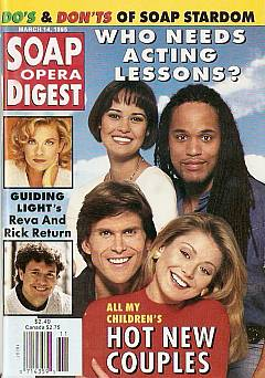 Soap Opera Digest - March 14, 1995