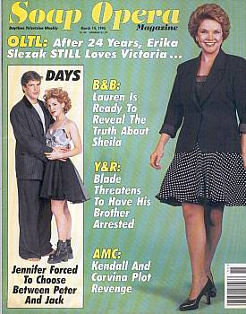 Soap Opera Magazine March 14, 1995