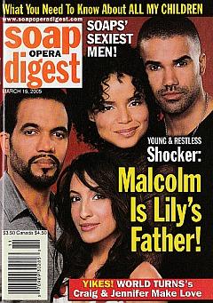 Soap Opera Digest March 15, 2005