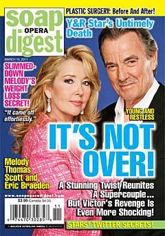 Soap Opera Digest March 15, 2011