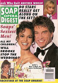 Soap Opera Digest - March 15, 1994