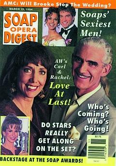 Soap Opera Digest March 15, 1994