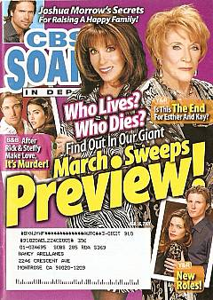 CBS Soaps In Depth March 16, 2009