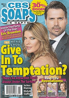 CBS Soaps In Depth March 16, 2020