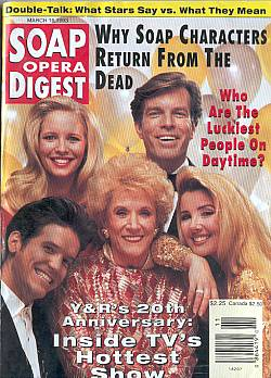 March 16, 1993 Soap Opera Digest