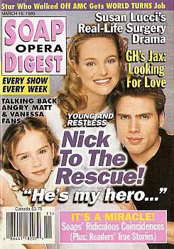 March 16, 1999 - Soap Opera Digest
