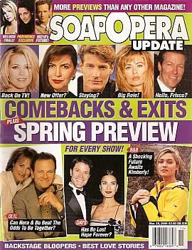 Soap Opera Update March 16, 1999