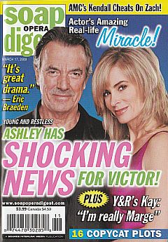 Soap Opera Digest March 17, 2009