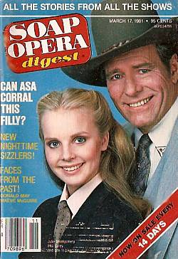 March 17, 1981 issue of Soap Opera Digest