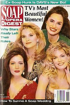 Soap Opera Digest March 17, 1992