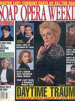 Soap Opera Weekly March 17, 1992