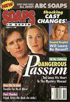 March 17, 1998 issue of ABC Soaps In Depth magazine