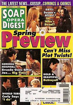 Soap Opera Digest - March 17, 1998