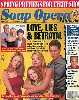 Soap Opera Magazine March 17, 1998