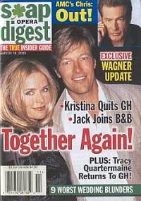 Soap Opera Digest March 18, 2003