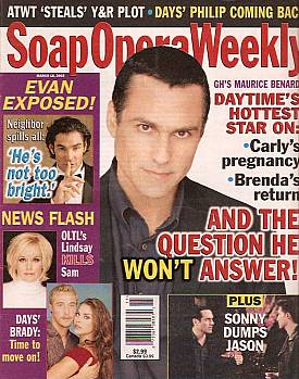 Soap Opera Weekly March 18, 2003