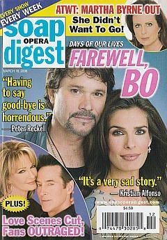 Soap Opera Digest March 18, 2008