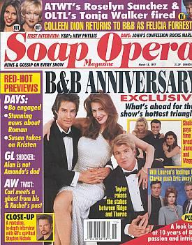 Soap Opera Magazine March 18, 1997