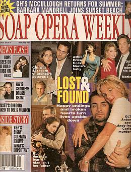Soap Opera Weekly March 18, 1997
