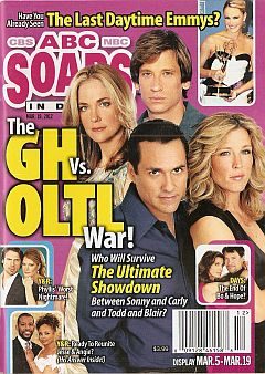 March 19, 2012 issue of ABC Soaps In Depth magazine