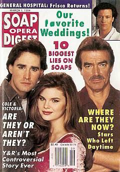 Soap Opera Digest - March 1, 1994