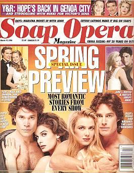 Soap Opera Magazine March 19, 1996