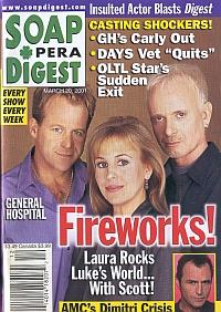Soap Opera Digest March 20, 2001