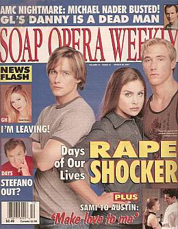 Soap Opera Weekly March 20, 2001