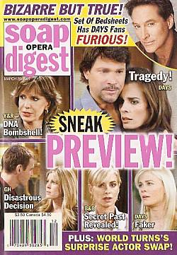 Soap Opera Digest March 20, 2007