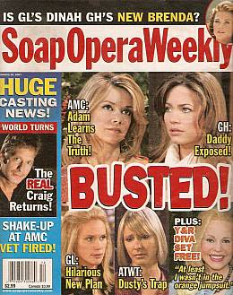 Soap Opera Weekly March 20, 2007