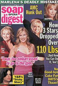 Soap Opera Digest March 2, 2004