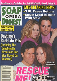Soap Opera Digest - March 21, 2000