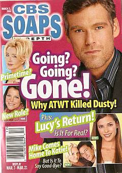 CBS Soaps In Depth March 21, 2006
