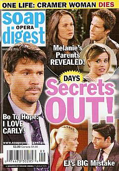 Soap Opera Digest March 2, 2010