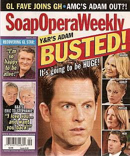 Soap Opera Weekly - March 2, 2010