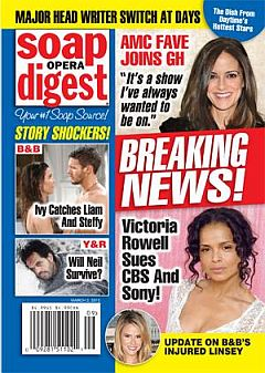 Soap Opera Digest March 2, 2015
