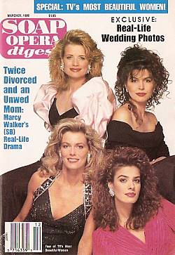 Soap Opera Digest March 21, 1989